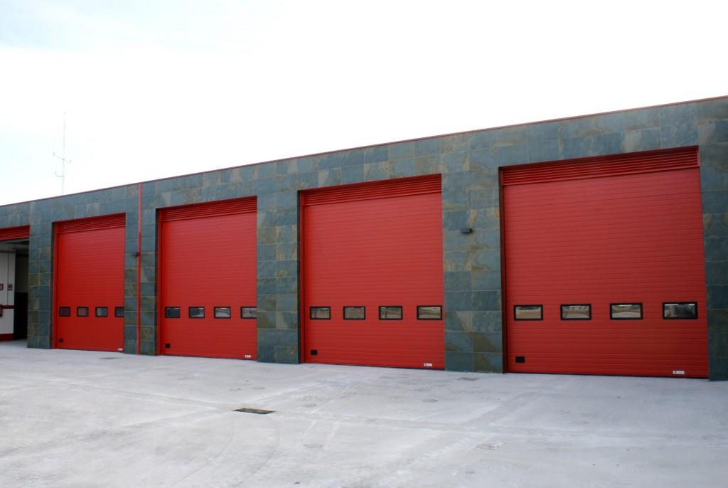 Puertas sectoriales parque de bomberos Baix Maestrat