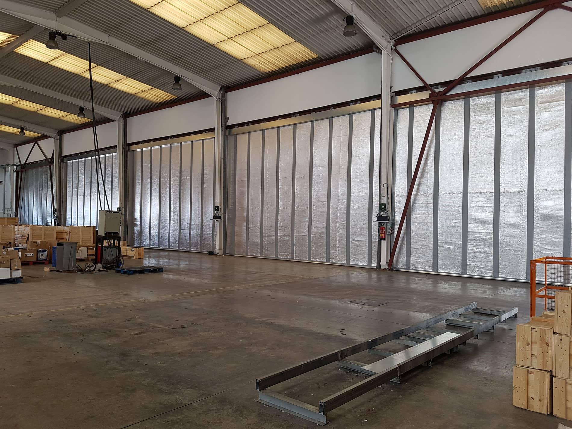 Instalación de puertas y sistemas de carga en Bombas Ideal
